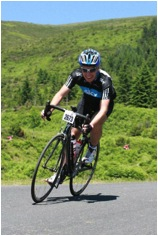 Nick cycling the Etape du Tour 2010 after his knee surgery -- 110 miles with some truly epic climbs in the Pyrenees, in 10 hours.